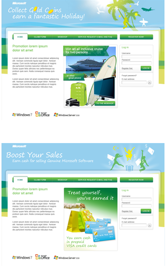 Microsoft MEA Gold Coins Boost Your Sales